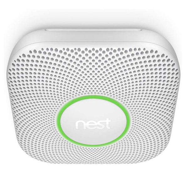 NEST PROTECT 2ND GEN SMOKE/CARBON MONOXIDE ALARM S3003LWES -WHITE (NEST-S3003LWES)