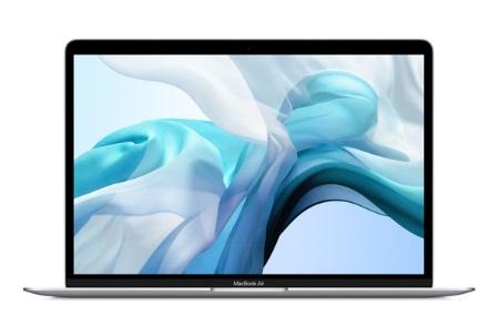 """MacBook Air 2020 13"""" i3 10th-Gen 8GB RAM 256GB Arabic / English Keyboard - Silver MWTK2AB/A"""