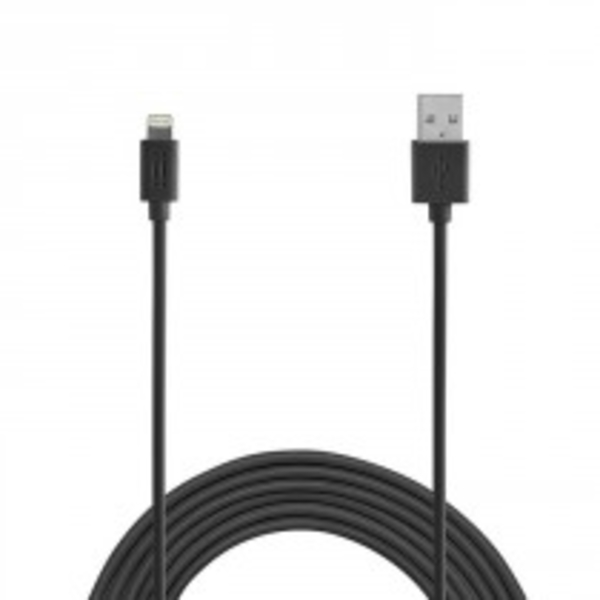 AIINO CABLE / LIGHTNING CABLE 1.2M MFI - BLACK (AICLTNGMFI-BK)
