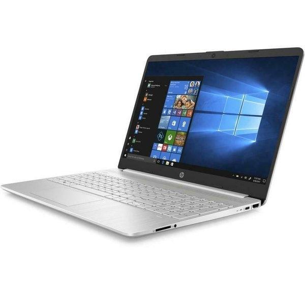 HP NoteBook Core i7 10th Gen RAM 8GB SSD 256GB+16GB  Shared Win10 15.6 inch Silver English Keyboard 15S-FQ1055E