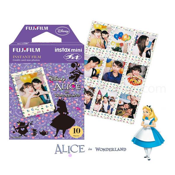 Fujifilm Instax Mini film 10 sheets (Disney's Alice in wonderland)