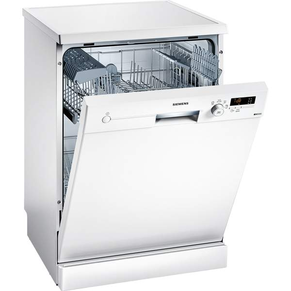 Siemens Freestanding Dishwasher, 12 Place Settings, White (SN24D200GC)