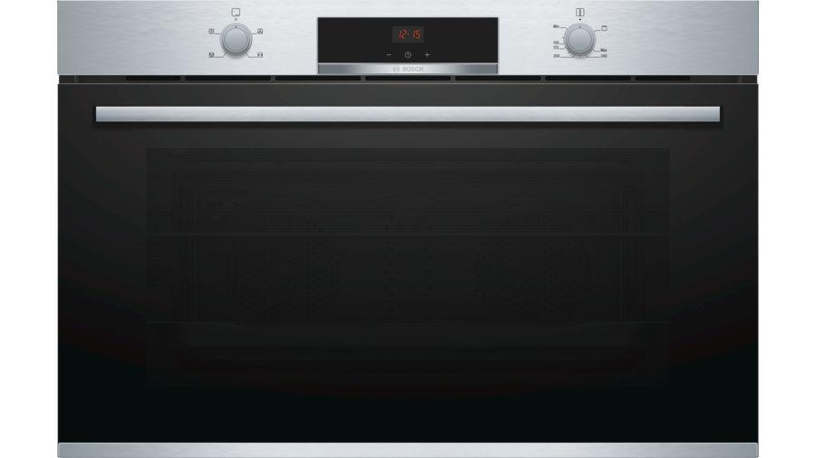 Bosch Serie 4 Gas built-in oven90 cm Stainless steel VGD553FR0
