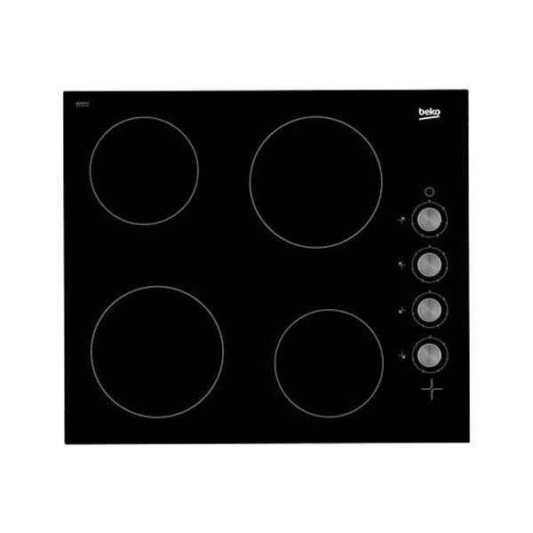 Beko 60cm Built-In 4 Zones Ceramic, 6 Cooking Level, Made in Turkey (HIC64100)