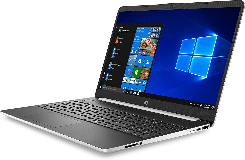 "HP Laptop 15s-fq1001ne, Intel® Core™ i3-1005G1, 4 GB RAM, 256 GB SSD, Intel® UHD Graphics,15.6"" diagonal FHD, Window 10, Silver"