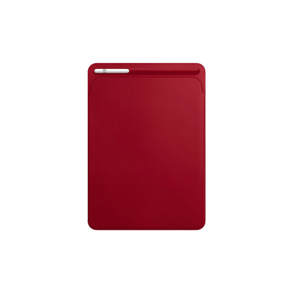 Apple Leather Sleeve for 10.5_inch iPad Pro - (PRODUCT)RED (MR5L2ZM/A)
