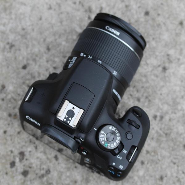 Canon EOS 2000D EFS 18-55MM DC III Black Kit (EOS2000D)