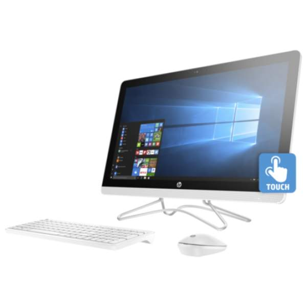 HP All-In-One Desktop, 21.5 Inch FHD with Touch, Intel i5-8250U, 8GB RAM, 1TB HDD, Win 10 (22-C0003)