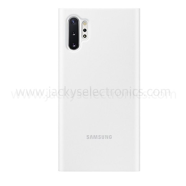 Samsung Galaxy Note 10+ Clear View Cover White (EF-ZN975CWEGWW)