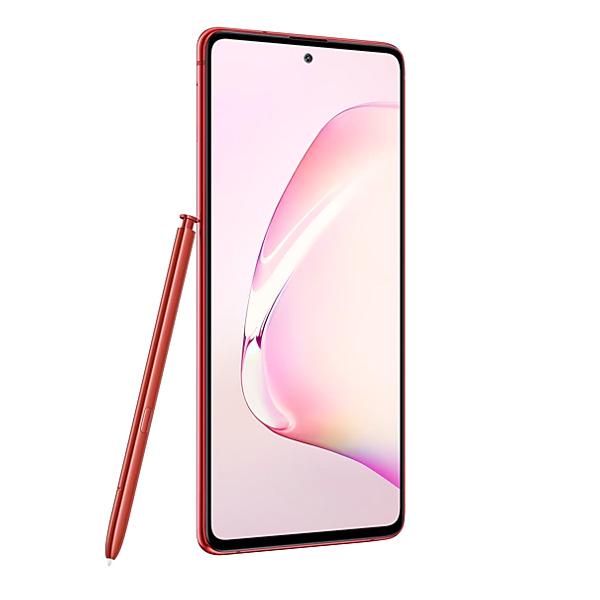 "Samsung Galaxy Note 10 Lite 6.7"" FHD, Dual Sim, 4G LTE, 8GB, 128GB Smartphone Red (SMN770F-128GBRD)"