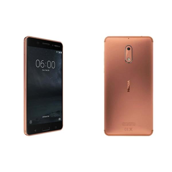 Nokia 6 Smartphone - Copper (NOKIA6W-C)