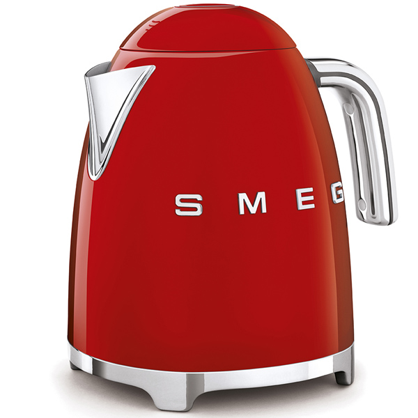 Smeg Kettle Red,c50's Retro Style Aesthetic (KLF03RDUK)