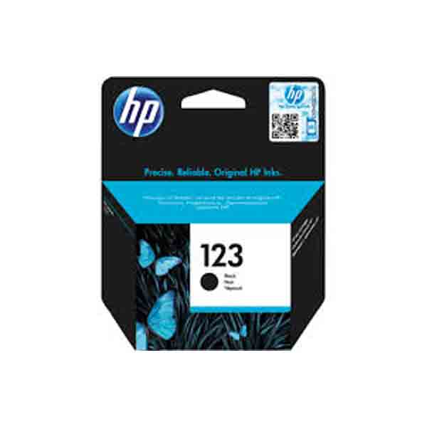 HP 123 Black Original Ink Cartridge F6V17AE