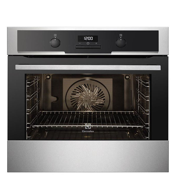 ELECTROLUX 60 CMS MF OVEN 74LT 9 SHELF HEIGHTS W/ RETRACTABLE KNOBS (EOB5450AAX)