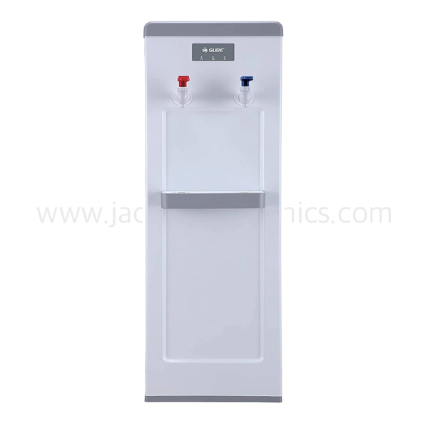 Sure Top Loading Water Dispenser, Hot & Cold Water, Child Lock, 2 Taps, White (SF1800WM)