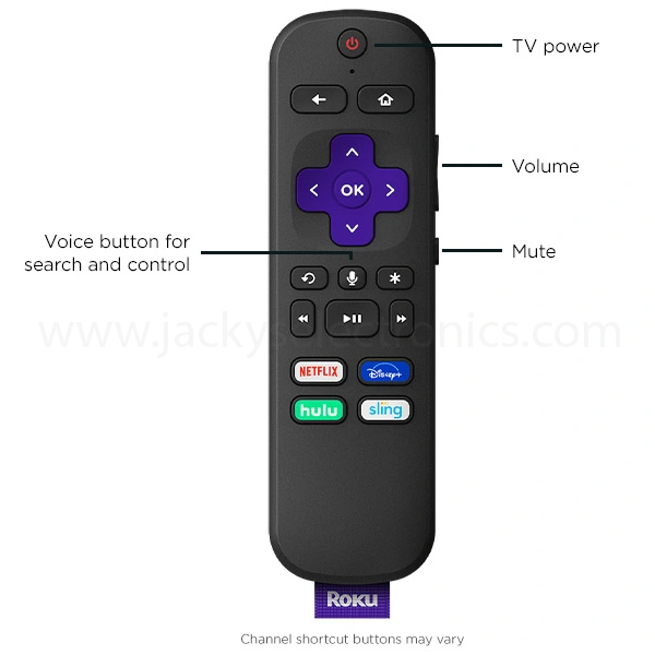 ROKU STREAMING MEDIA PLAYER STREAMING STICK PLUS (ROKU-3810R)