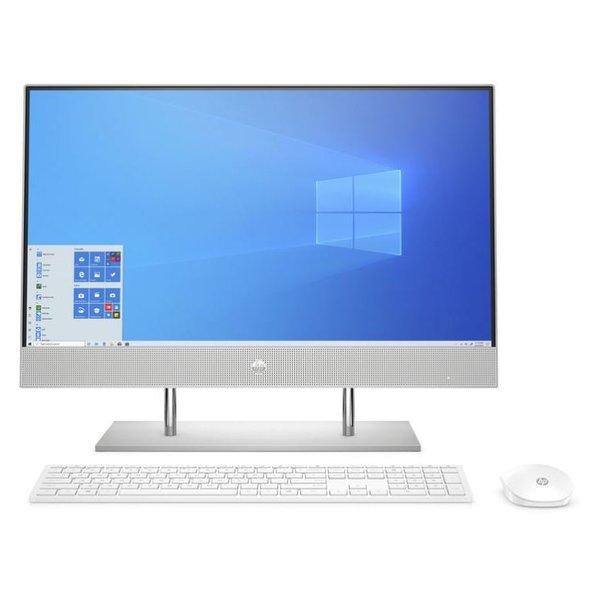 HP All-in-One Desktop Core i7-10th Gen Ram 16GB-1TB HDD+256GB SSD Graphics 2GB Windows 10 Screen 24 inch Silver 24-DP0015