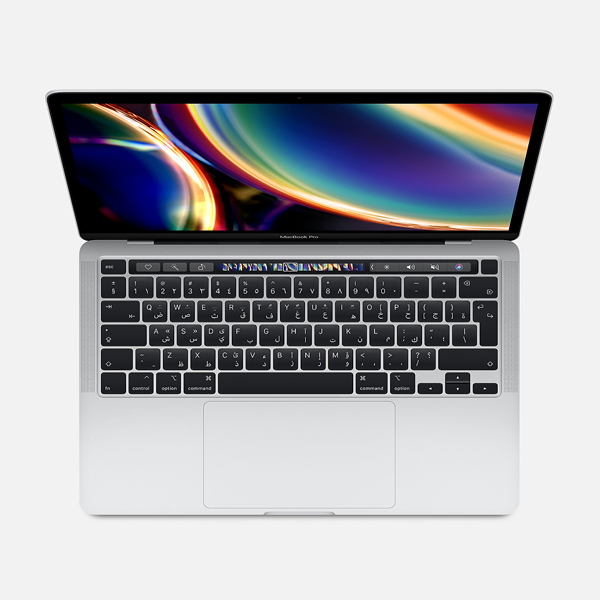 "MacBook Pro 2020 13"" with Touch Bar i5 10th-Gen, 512GB - Silver English Keyboard"