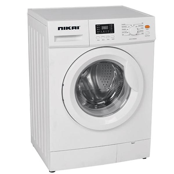 Nikai 6Kg Front Load Washing Machine Fully Automatic Big Crome Door Digital Display (NWM600FN7)