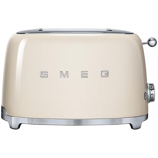 Smeg Retro Cream 2 Slice Toaster (TSF01CRUK)