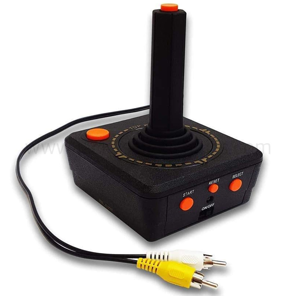 ATARI RETRO TV JOYSTICK W/50 CLASSIC ATARI GAMES BUILT-IN (FG-BATV-CON-EFIGS)