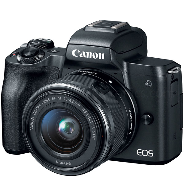 Canon EOS M50 EF-M15-45 IS STM  Black (EOSM50-BK)