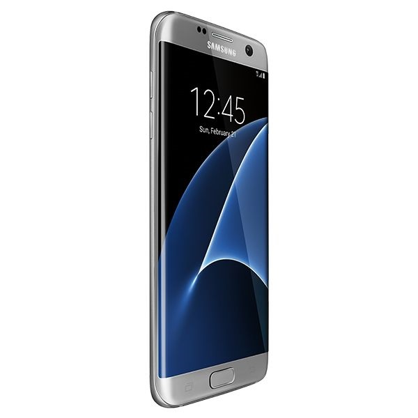 Samsung Galaxy S7 Edge 32GB Duos,Silver(SMG935FW-S)