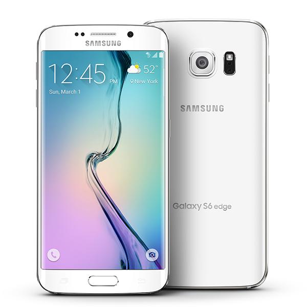 Samsung Galaxy S6 Edge White (SMG925FW-64GBW)