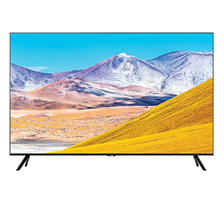 "Samsung 43"" TU8000 Crystal UHD 4K Flat Smart TV (UA43TU8000U)"