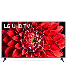 LG UHD 4K TV 75 Inch UN71 Series, 4K Active HDR WebOS Smart AI ThinQ 75UN7180PVC-AMA