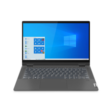 "Lenovo Ideapad Flex 5 14"" i7 10th Gen 8GB RAM 512GB SSD 2GB Graphics Windows 10 81X1003AAX Gray Arabic / English Keyboard"
