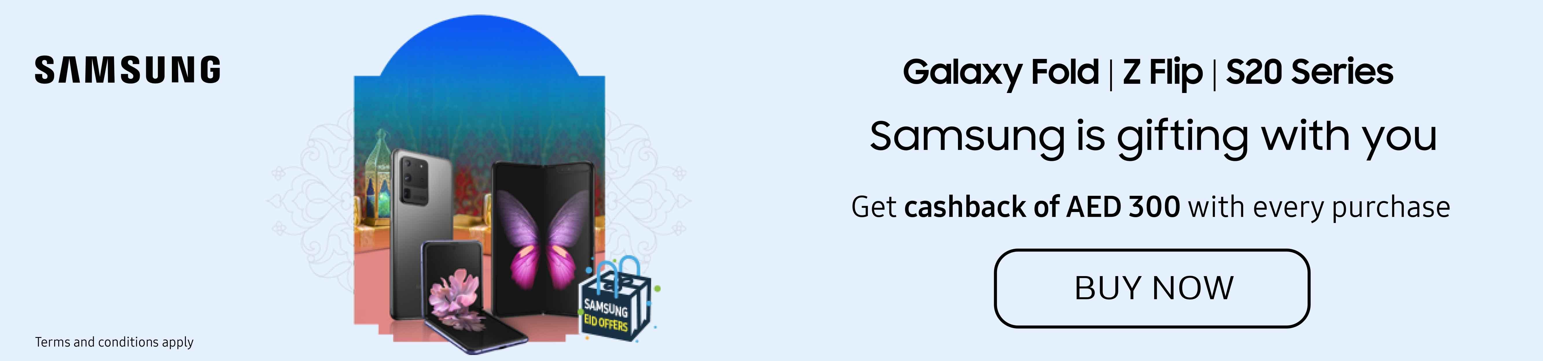 SAMSUNG CASH BACK OFFER ON SELECTED SMART PHONES
