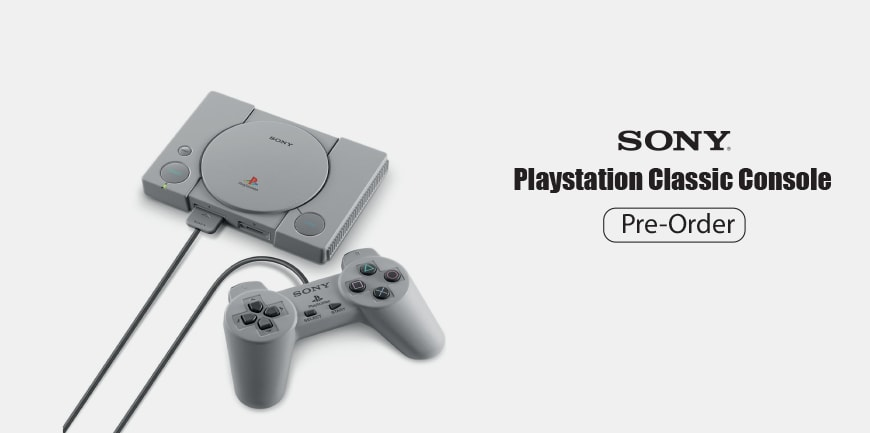 PlayStation Class Pre-Order Now