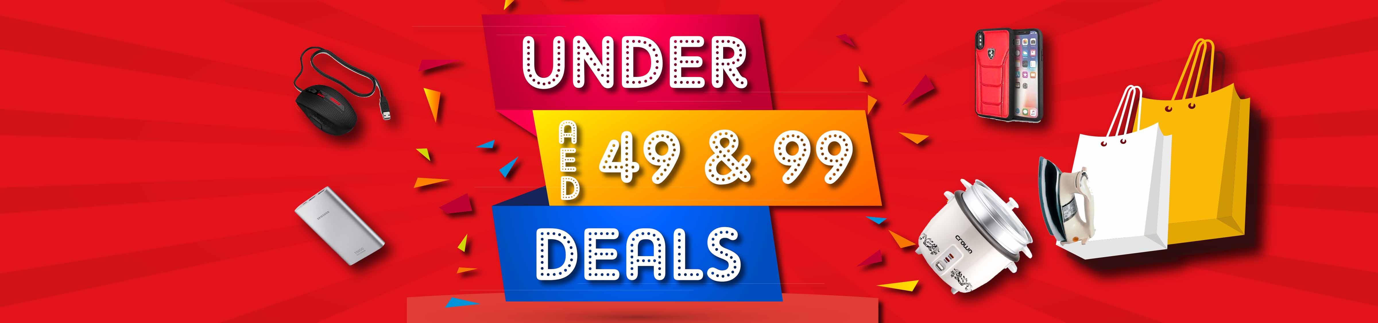 Under 49-99 Deals
